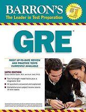 Barron's GRE, Wolf Ph.D., Ira K., Weiner Green, Sharon, Very Good, Disk