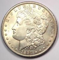 1891-CC Morgan Silver Dollar $1 - Choice BU MS Details - Rare Carson City Coin!