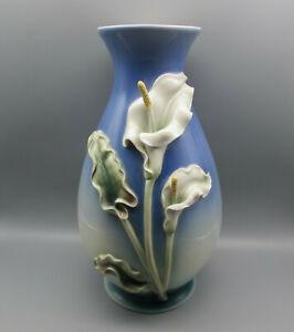 Franz Porcelain Large Calla Lily Vase F200045