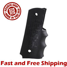 Pearce Grip Rubber Finger Groove Insert for 1911 Government & Commander Model