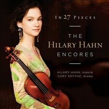 In 27 Pieces: The Hilary Hahn Encores (CD, Oct-2013, 2 Discs, DG)