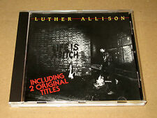 CD Luther Allison Life is a Bitch /1984  label Encore ! Mélodie