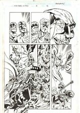 Avengers United They Stand #2 p.12 Hawkeye, Scarlet Witch '99 by Jason Armstrong