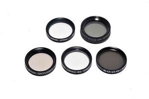 Kood 27mm Glass Filter Set CPL, Star 4 & 6, Skylight, ND4 5 Filter Set Gass 27mm