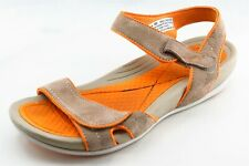Dansko Size 40 M Brown Ankle Strap Leather Women Sandal Shoes