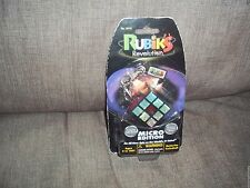 NEW RUBIK'S REVOLUTION MICRO EDITION VACATION TOY GAMES ELECTRONIC KEY CHAIN
