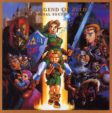 The Legend of Zelda Ocarina of Time SOUNDTRACK CD