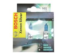 OFERTA Bombillas Bosch Xenon Silver H1 Lámparas 50% + Luz