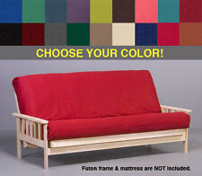 premium futon cover   your choice of size and color blazing needles futons frames and covers   ebay  rh   ebay