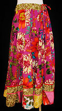 Beautiful VTG 80-90s L BoHo Hippie Floral Convertible Maxi Skirt or Dress