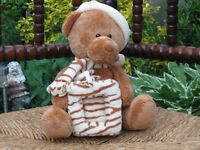 Teddy Bear Picture Frame Plush Soft Bears by MM Trading Netherlands