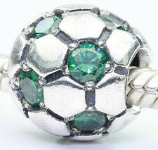 pandora argento ciondolo - CALCIO CON verde zircone cubico - 790444czn
