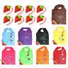 *5stk Faltbare Einkaufstasche Erdbeere Einkaufsbeutel H2D8 Tragetasche Shop F5J3