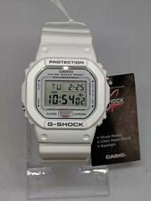 G shock GW 5600BL White Original Box and Packaging Genuine Rep. White Strap MINT