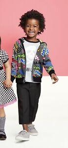 New! HARAJUKU MINI FOR TARGET •Boy 2T• Logo Zip Hoodie Jacket Sweatshirt