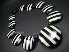 N4249 FASHION Bold tribal Resin beads Round Gypsy Runway NECKLACE TIBET Jewelry