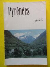 Revue Pyrénées n° 130 1982 Morlanne Adour cheval Saint-Savin Val d'Aran
