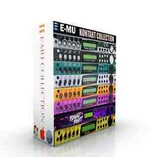 EMU Complete Rack Collection + EMU EMAX + Ensoniq ASR for KONTAKT