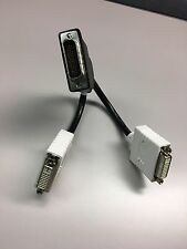 DMS-59 To Dual DVI with VGA adaptors - Bizlink 8 inch splitter cable