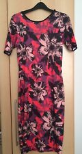 River Island Body Con Floral Dress, Size 10