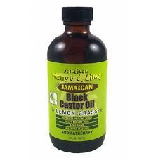 Jamaican Mango and Lime Jamaican Black Castor Oil Lemongrass Aromatherapy 4oz