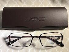 Brand New Oliver Peoples Becque Titanium 100 Purple 53-17-137 Eyeglass Frames