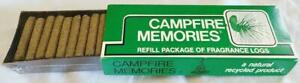 Unopened Vintage Incense Campfire Products Incense Logs Forest Scented