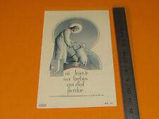CHROMO 1920-1930 CATHOLICISME IMAGES PIEUSES JESUS CHRIST BREBIS PERDUE RELIGION