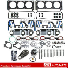 Fits 00-03 Chevrolet Pontiac 3.4L Head Gasket Bolts Timing chain Water Pump Set