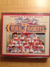 READER'S DIGEST A Treasury Of Choral Favorites Discs 2 - 4 plus 2 Bonus CDs