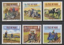 Île de Man - 2007, Vintage Labourage Ensemble - MNH - Sg 1394/9