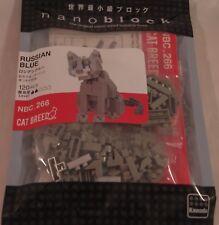Kawada nanoblock Mini RUSSIAN BLUE - japan building toy NEW NBC_266 Worldwide