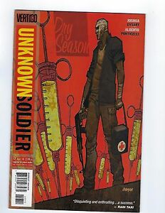 Unknown Soldier #17 (2010 Vertigo Comics)  *VF+
