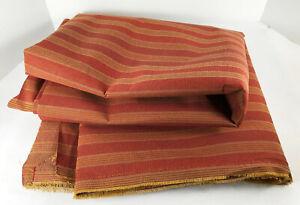 Thomasville Striped Stiff Upholstery Fabric Yardage Outdoor Awning 6+ yards