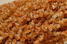 34 Inch Strand Golden Honey Quartz Stone Chip Beads -  5mm to 9mm - ZC123