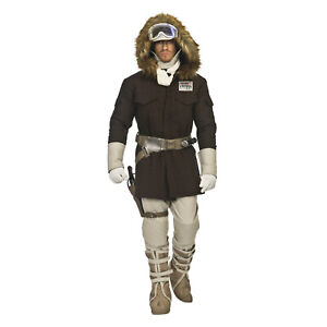 Deluxe STAR WARS Men's HOTH HAN SOLO Return of Jedi FULL Cosplay Costume XS-XL