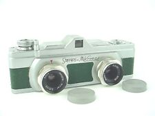 Stereo Mikroma Green Camera with Meopta 25/3,5 Mirar Made in Czechoslovakia-Rare