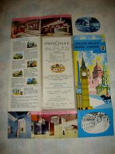 STRAND PALACE HOTEL LONDON GRANDE BRETAGNE. SALES BROCHURE Dépliant