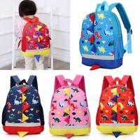 Children Kids Boys Girls Dinosaur Backpack School Bag Rucksack Character Bags