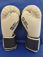 Title Boxing Gloves - Gel - Fitness - Size Large - light gray - new in bag