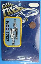 Patch '75 vintage Moc Star Trek - Ncc-1707 U.S.S. Enterprise