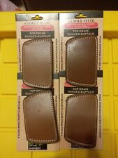 4 Saddle Mate Hip / Conceal Carry Holsters Top Grain Rugged Buffalo Leather NEW