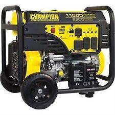 champion 100110 9200 watt electric start portable generator