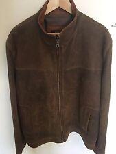 Remy Mens Leather Jacket Size 44