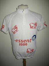 Essent 2000 Holland white jersey shirt cycling wielershirt radsport size XXL