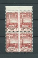 AUSTRALIE - 1954 YT 210 bloc de 4 - TIMBRES NEUFS** MNH LUXE