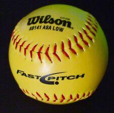 New listing Wilson Softball Ball, A9141 ASA Low (New)