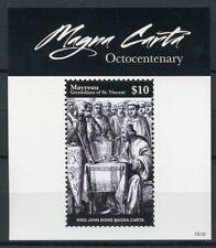 Mayreau Gren St Vincent 2015 MNH Magna Carta Octocent 1v S/S King John Stamps
