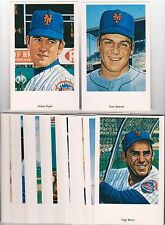 Lot of 90 1994 25th Anniversary 1969 Miracle Mets 32 Card Postcard Sets w/ Ryan