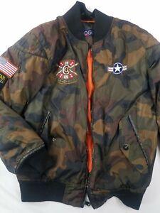 COOGI Kids Jacket Size 10-12 Camouflage Multicolor Camo Jacket